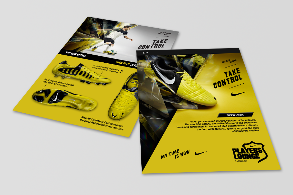 Web design durham hill valley creative agency for Nike brochure design